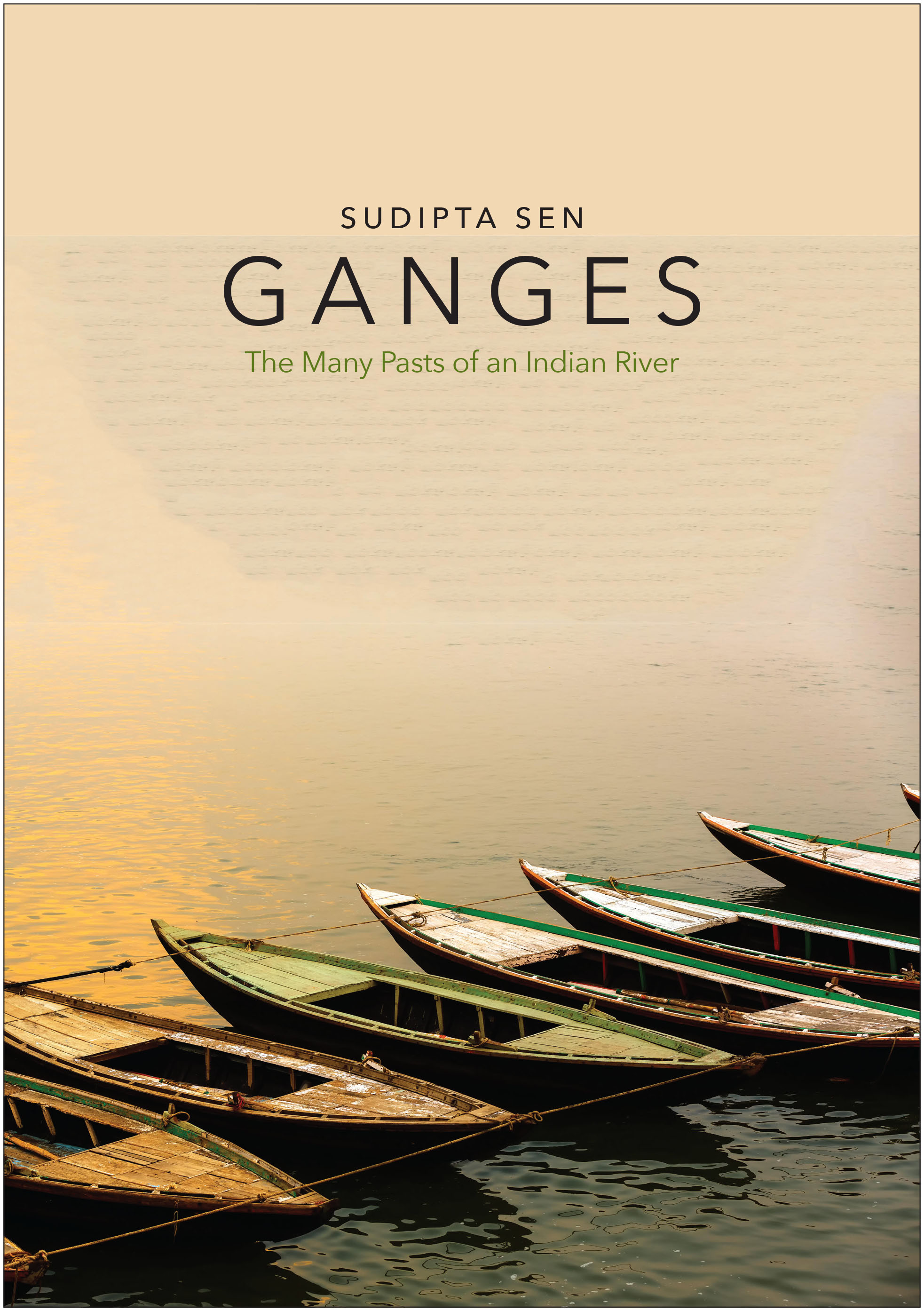 Book cover, Ganges