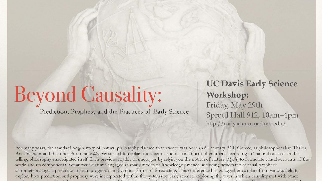 Beyond Causality Conference Flyer