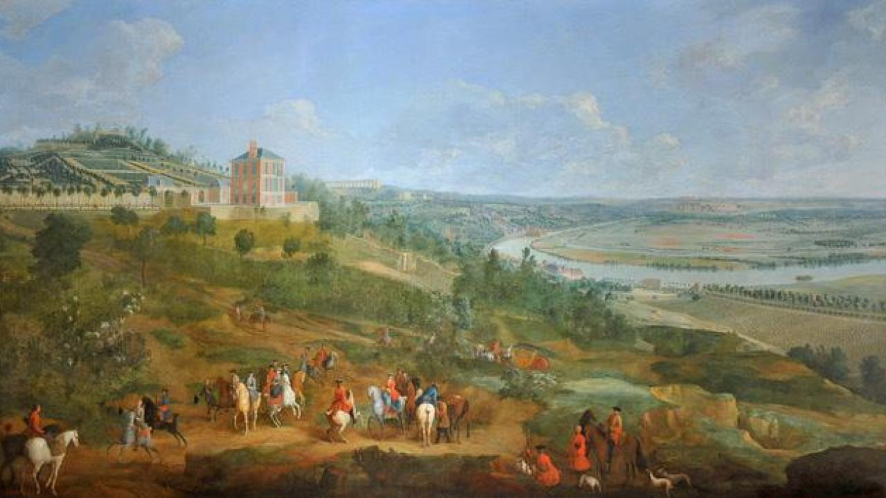 Painting of Hunting Party from 1730