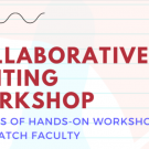 collaborative writing workshop