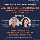 Mass Media & Digital Transformation Flyer
