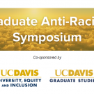 Graduate Anti-Racism Symposium on cloud background
